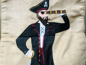 Pirate Cloth Fabric Laundry Hamper - Cover Only