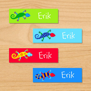 Lizards Personalized 80 CT Waterproof Mini Labels