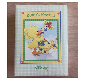 Little Suzy's Zoo Witzy Duck & Patches Giraffe Baby's Photo Album 100 Photos