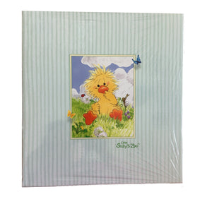 Little Suzy's Zoo Witzy Baby Duck Scrapbook Album 50 Inserts & 25 Sheet Protectors
