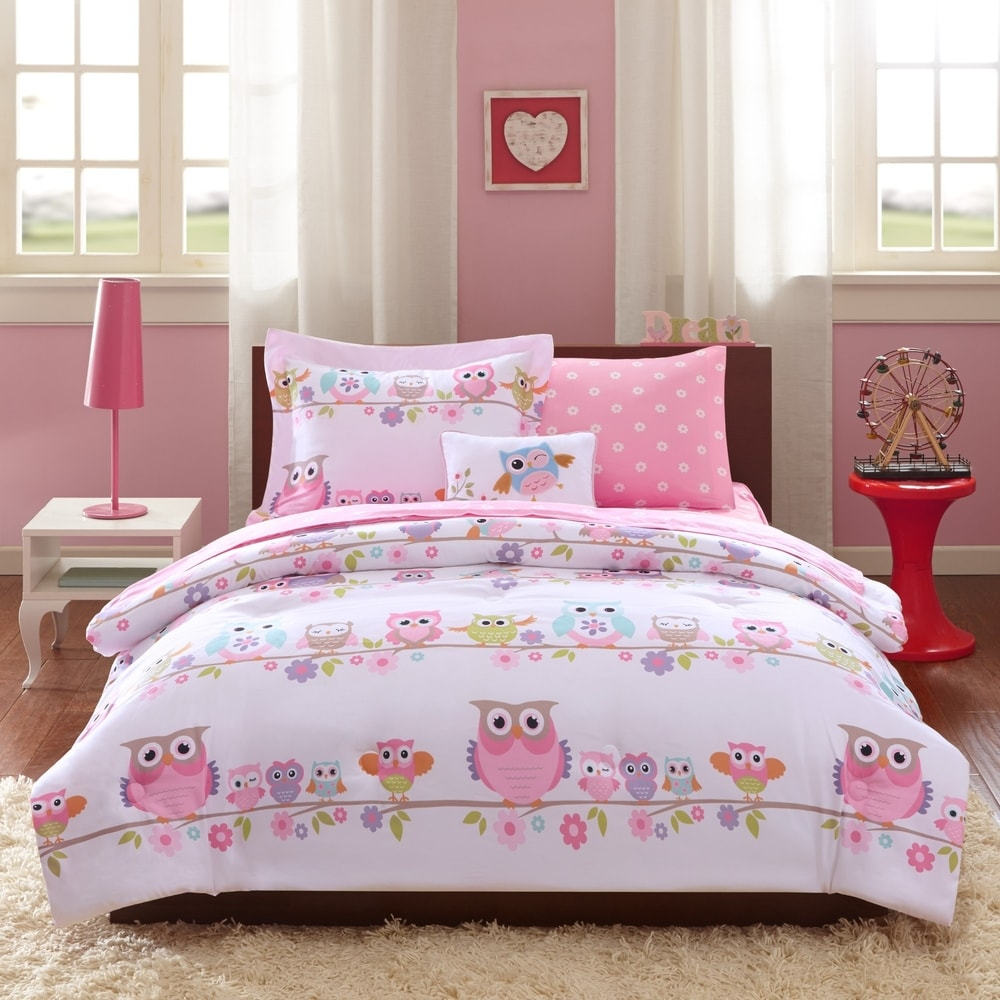 Owl / Deer/ Forest Bedding