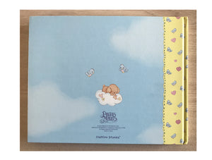 Vintage Precious Moments Baby Memory Photo Keepsake Book Baby's First Year - Defects
