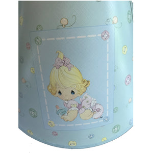 Precious Moments Ceramic Baby Nursery Lamp Boy or Girl