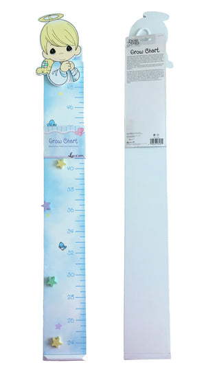 Precious Moments Angel Blue Wooden Growth Chart