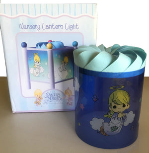 Precious Moments Baby Nursery Angel Lantern Lamp for Boy / Girl