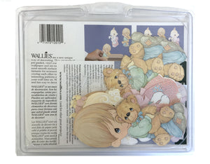 "Precious Moments Boy or Girl Wallpaper Wallies Cutouts 5"" for Decorating Projects or Walls"