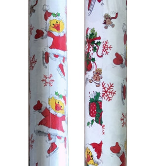 Suzy's Zoo Christmas Rolled Gift Wrapping Paper Suzy Snowflake