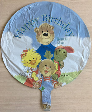 "Suzy's Zoo Gang Happy Birthday From All of Us 18"" Party Balloon"