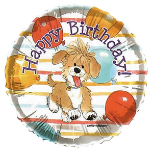 "Suzy's Zoo Baxter Puppy Happy Birthday 18"" Party Balloon"