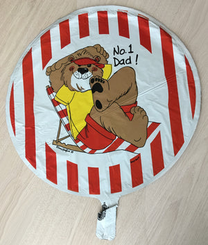 "Suzy's Zoo No 1 Dad! Father's Day 18"" Party Balloon"