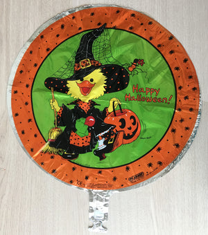 "Suzy's Zoo Suzy Witch Happy Halloween 18"" Party Balloon"