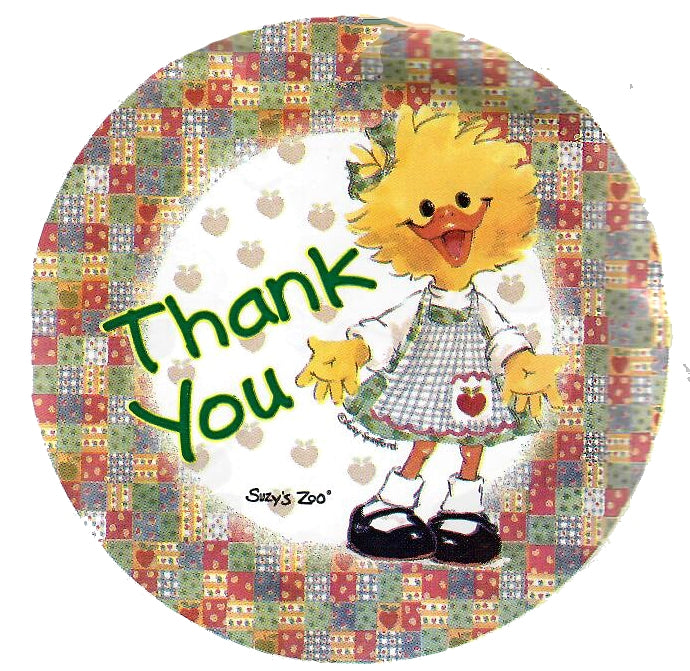 "Suzy's Zoo Suzy's Ducken Thank You 18"" Balloon"