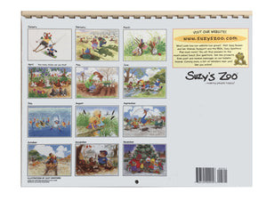 Collector's Suzy's Zoo Appointment Wall Calendar 2001 - Used