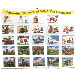 Collector's Suzy's Zoo Appointment Wall Calendars 2003 2005 2006