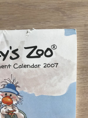 Collector's Suzy's Zoo Appointment Wall Calendars 2007, 2012 - Flaw