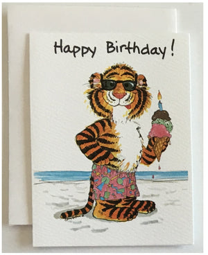 "Suzy's Zoo Gift Enclosure Mini Note Cards 2.5"" x 3.375"""