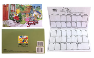 Vintage Suzy's Zoo Pocket Calendars 2003 2004, 2005 2006 2007 2008 2010 2012