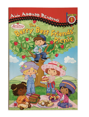 Strawberry Shortcake The Berry Best Friends' Picnic Paperback Book - All Aboard Reading 1