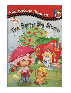 Strawberry Shortcake The Berry Big Storm Paperback Book - All Aboard Reading 1