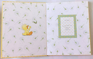 Little Suzy's Zoo Baby's Book The First Tender Years with Gift Box - Witzy Yellow Baby Duck