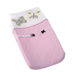 Butterfly Pink Changing Pad Cover