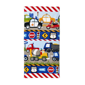 Transportation Trucks Hand Towel