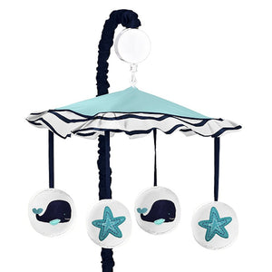 Whale Ocean Starfish Baby Crib Musical Mobile