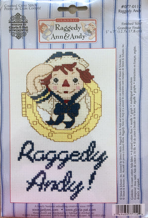 Classic Raggedy Ann & Andy Cross Stitch Kits - Sailors