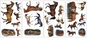 Wild Horses Wall Stickers Decals Room Decor Murals