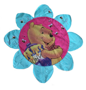 "Winnie The Pooh & Bees Jumbo Flower-Shaped 30"" Party Balloon"