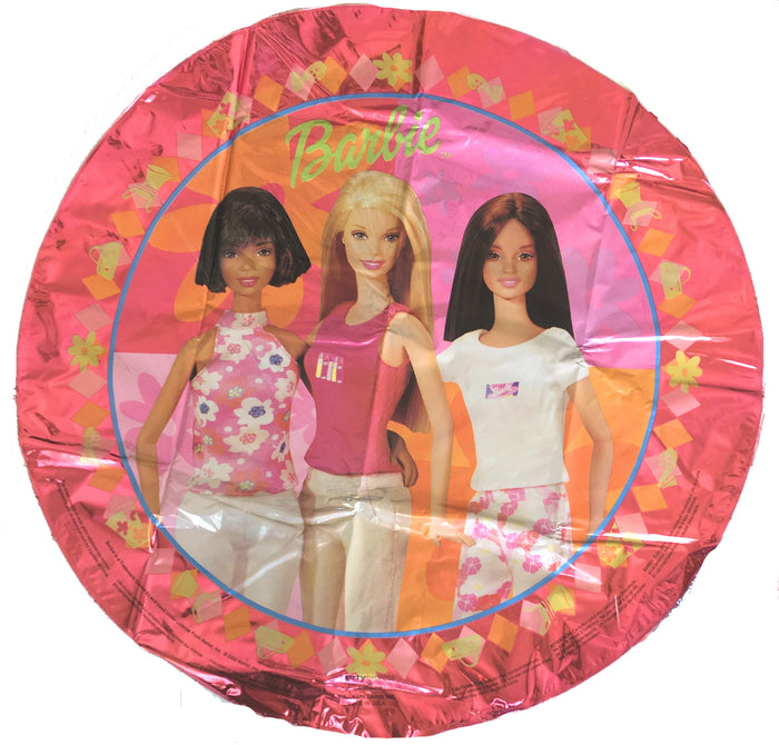 "Barbie Generation Friends 18"" Birthday Party Balloon - Caucasian, Ethnic, Hispanic, African-American"