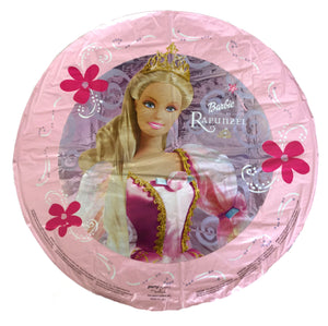 "Rapunzel Princess Barbie 18"" Birthday Party Balloon"