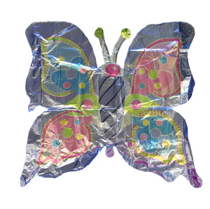 "Prismatic PiInk & Lavender Butterfly Super-Shape Giant 40"" Party Balloon"