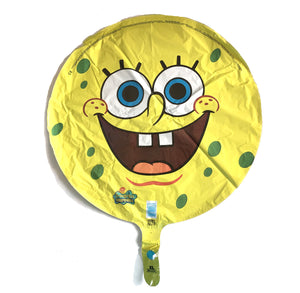 "Spongebob Squarepants Yellow Round Face 18"" Party Balloon"