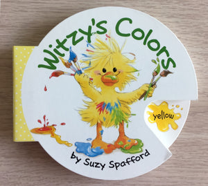 Little Suzy's Zoo Witzy's Colors Cartwheel Book