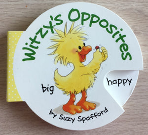 Little Suzy's Zoo Witzy's Opposites Cartwheel Book