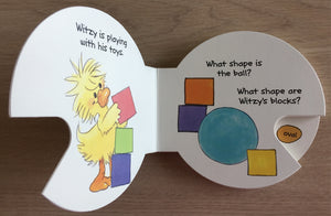 Little Suzy's Zoo Witzy's Shapes Cartwheel Book