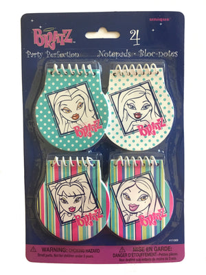 Bratz Happy Birthday Party Perfection Note Memo Pads, Party Favors 4 CT