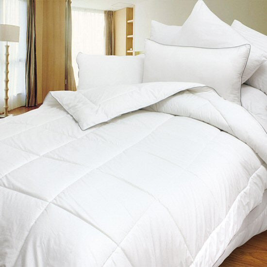 Down Alternative White Comforter Twin Full Queen King Size Duvet / Insert