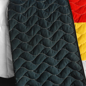 Red Black White Green & Yellow Geometric Teen Bedding Full/Queen Quilt Set Modern Bedspread