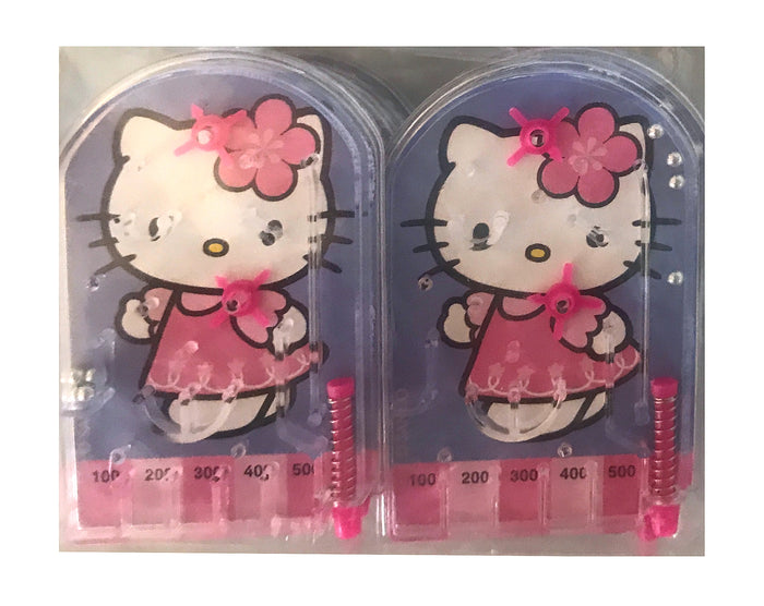 Hello Kitty Birthday Party Favors 12 Pinball Games