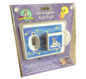 Baby Looney Tunes Switchplate Night Light Little Bugs Bunny