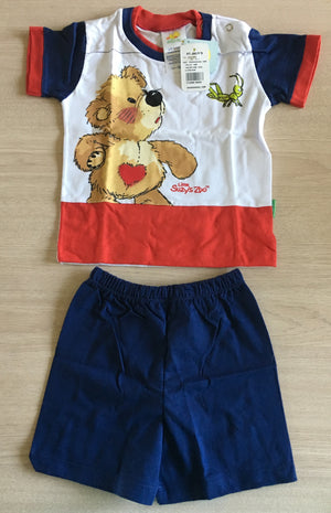 Little Suzy's Zoo Boof Bear 2-Piece Outfit T-Shirt & Shorts Baby / Toddler