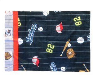 "Baseball Sports Pillow Sham 19"" x 29"""