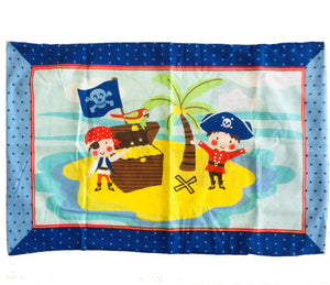 "Pirates Kids Pillowcase 19"" x 29"""