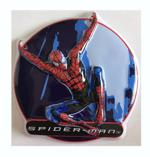 "Spiderman Cake Topper Party Pop Top 5.25"" x 0.25"""