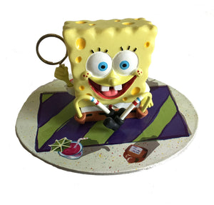 "Spongebob Squarepants Birthday Party 2"" Balloon Weight Centerpiece Statue / Figurine Cake Topper"