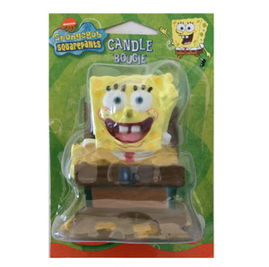 "Spongebob Squarepants Birthday Party 3"" Candle Cake Topper"