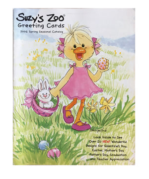 Suzy's Zoo Wholesale Promotional 2006 Spring Catalog Valentine, Easter - Suzy's Zoo Studios