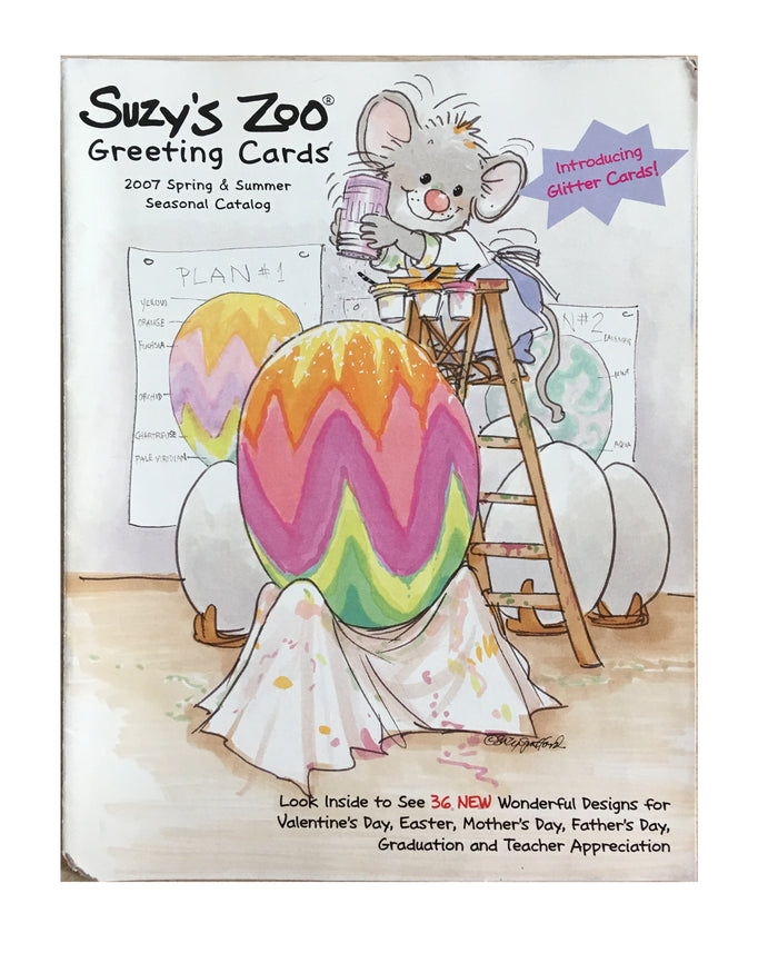 Suzy's Zoo Wholesale Promotional 2007 Spring & Summer Catalog Valentine, Easter - Suzy's Zoo Studios